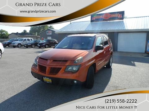 2004 Pontiac Aztek for sale at Grand Prize Cars in Cedar Lake IN
