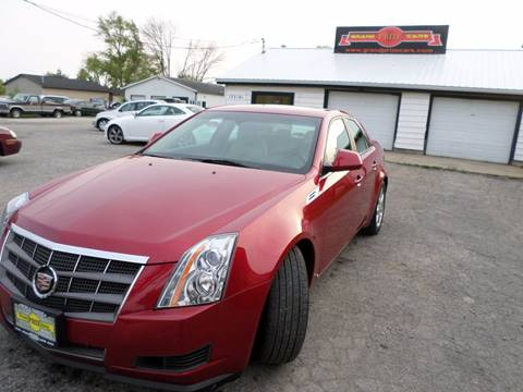 2008 Cadillac CTS for sale at Grand Prize Cars in Cedar Lake IN