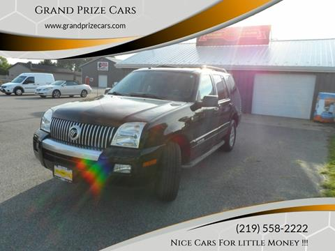 2010 Mercury Mountaineer for sale at Grand Prize Cars in Cedar Lake IN
