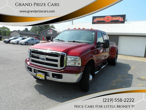 2001 Ford F-350 Super Duty for sale at Grand Prize Cars in Cedar Lake IN