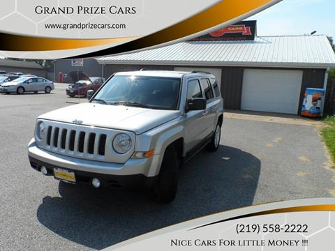 2012 Jeep Patriot for sale at Grand Prize Cars in Cedar Lake IN