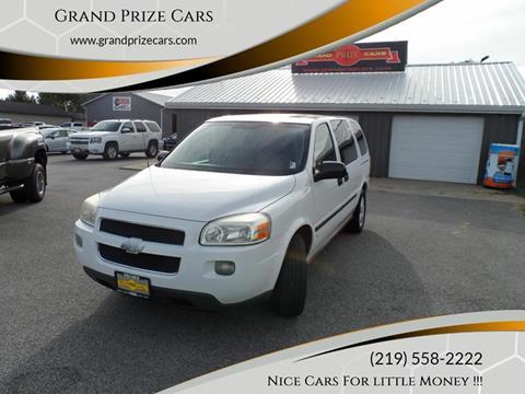2008 Chevrolet Uplander for sale at Grand Prize Cars in Cedar Lake IN
