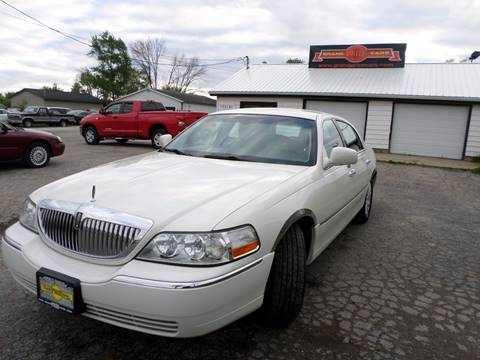 2003 Lincoln Town Car for sale at Grand Prize Cars in Cedar Lake IN