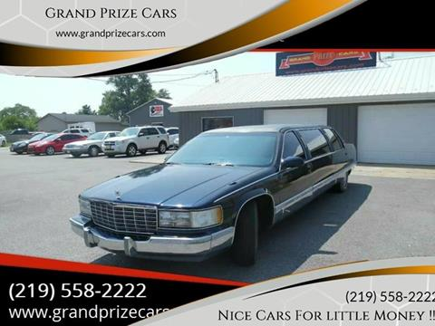 1996 Cadillac Fleetwood for sale at Grand Prize Cars in Cedar Lake IN
