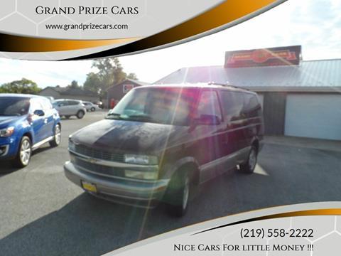 2005 Chevrolet Astro for sale at Grand Prize Cars in Cedar Lake IN