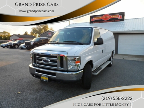 2013 Ford E-Series Cargo for sale at Grand Prize Cars in Cedar Lake IN