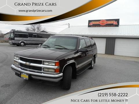1996 Chevrolet Tahoe for sale at Grand Prize Cars in Cedar Lake IN