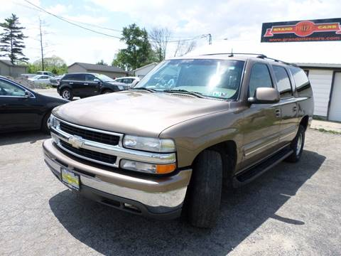 2003 Chevrolet Suburban for sale at Grand Prize Cars in Cedar Lake IN