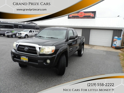 2007 Toyota Tacoma for sale at Grand Prize Cars in Cedar Lake IN