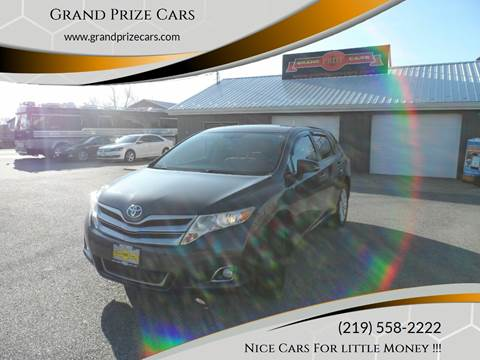 2013 Toyota Venza for sale at Grand Prize Cars in Cedar Lake IN