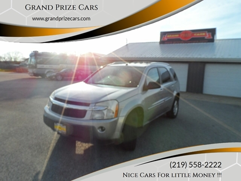 2005 Chevrolet Equinox for sale at Grand Prize Cars in Cedar Lake IN