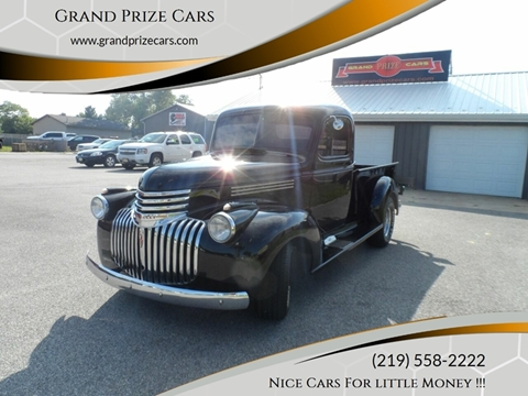 1946 Chevrolet pick up for sale at Grand Prize Cars in Cedar Lake IN