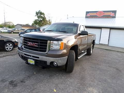 2008 GMC Sierra 2500HD for sale at Grand Prize Cars in Cedar Lake IN