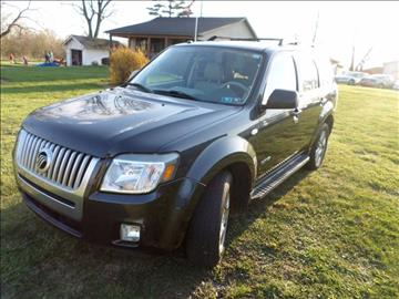 2008 Mercury Mariner for sale at Grand Prize Cars in Cedar Lake IN
