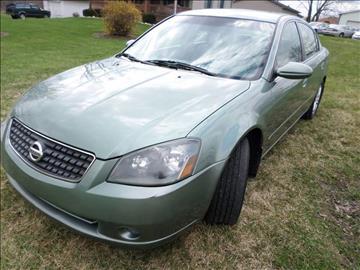 2005 Nissan Altima for sale at Grand Prize Cars in Cedar Lake IN