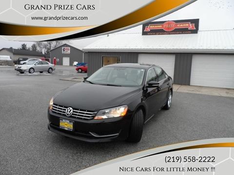 2014 Volkswagen Passat for sale at Grand Prize Cars in Cedar Lake IN