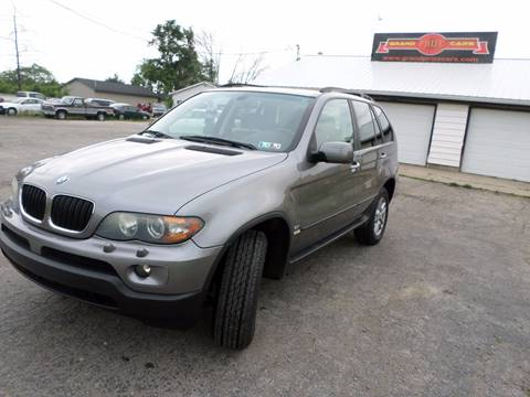 2004 BMW X5 for sale at Grand Prize Cars in Cedar Lake IN