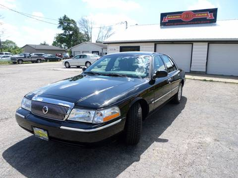 2003 Mercury Grand Marquis for sale at Grand Prize Cars in Cedar Lake IN