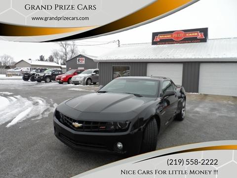 2011 Chevrolet Camaro for sale at Grand Prize Cars in Cedar Lake IN
