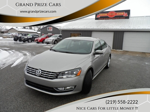 2013 Volkswagen Passat TDI SE for sale at Grand Prize Cars in Cedar Lake IN