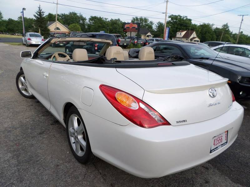 2006 toyota camry solara sle v6 2dr convertible in cedar lake in grand prize cars. Black Bedroom Furniture Sets. Home Design Ideas
