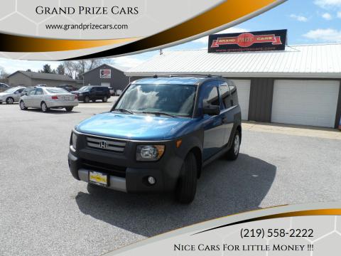 2008 Honda Element for sale at Grand Prize Cars in Cedar Lake IN