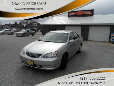 2005 Toyota Camry for sale at Grand Prize Cars in Cedar Lake IN