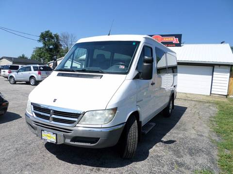 2005 Dodge Sprinter for sale at Grand Prize Cars in Cedar Lake IN