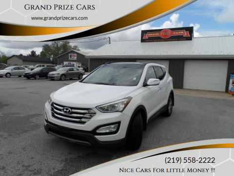 2014 Hyundai Santa Fe Sport for sale at Grand Prize Cars in Cedar Lake IN