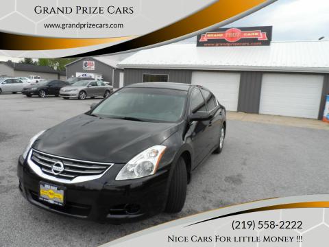 2010 Nissan Altima for sale at Grand Prize Cars in Cedar Lake IN