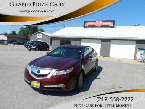 2010 Acura TL for sale at Grand Prize Cars in Cedar Lake IN