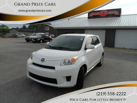 2012 Scion xD for sale at Grand Prize Cars in Cedar Lake IN