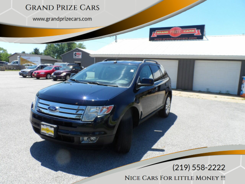 2008 Ford Edge for sale at Grand Prize Cars in Cedar Lake IN
