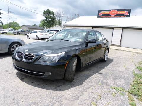 2008 BMW 5 Series for sale at Grand Prize Cars in Cedar Lake IN