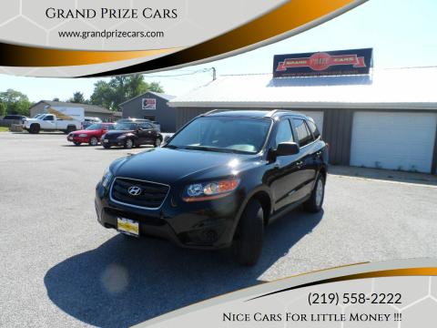2010 Hyundai Santa Fe for sale at Grand Prize Cars in Cedar Lake IN