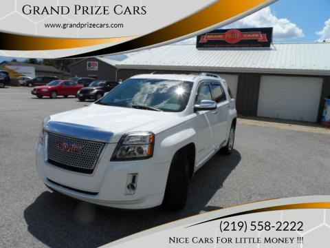 2013 GMC Terrain for sale at Grand Prize Cars in Cedar Lake IN