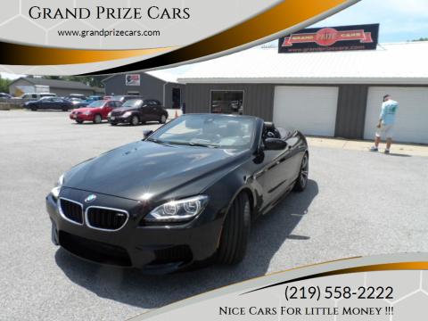 2015 BMW M6 for sale at Grand Prize Cars in Cedar Lake IN