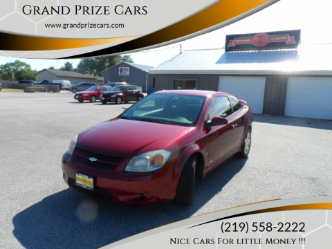 2007 Chevrolet Cobalt for sale at Grand Prize Cars in Cedar Lake IN
