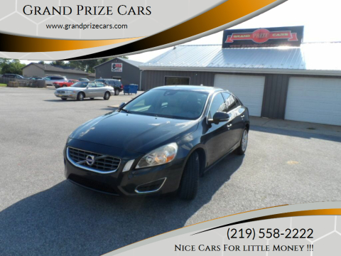 2012 Volvo S60 for sale at Grand Prize Cars in Cedar Lake IN
