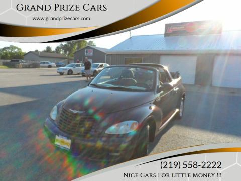 2005 Chrysler PT Cruiser for sale at Grand Prize Cars in Cedar Lake IN