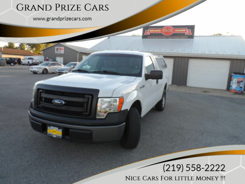 2013 Ford F-150 for sale at Grand Prize Cars in Cedar Lake IN