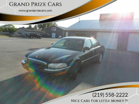2002 Buick Park Avenue for sale at Grand Prize Cars in Cedar Lake IN