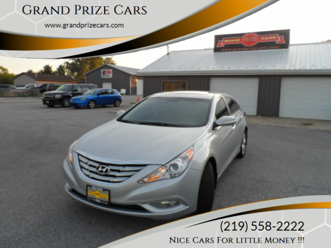 2013 Hyundai Sonata for sale at Grand Prize Cars in Cedar Lake IN