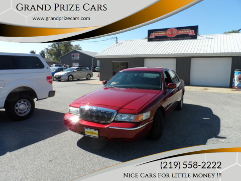 2002 Mercury Grand Marquis for sale at Grand Prize Cars in Cedar Lake IN