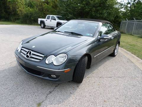 2009 Mercedes-Benz CLK for sale at Grand Prize Cars in Cedar Lake IN