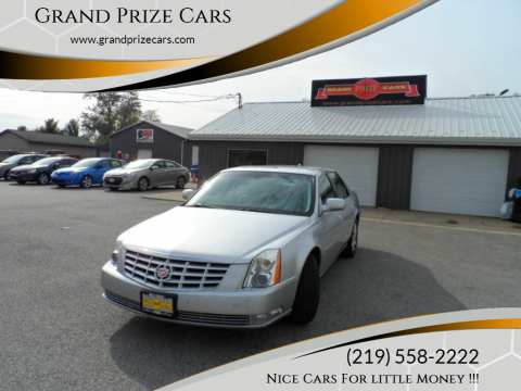 2011 Cadillac DTS for sale at Grand Prize Cars in Cedar Lake IN