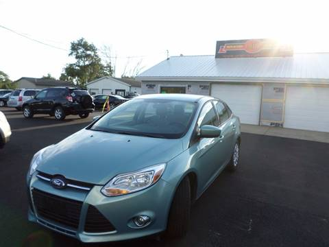 2012 Ford Focus for sale at Grand Prize Cars in Cedar Lake IN