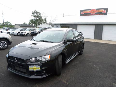 2011 Mitsubishi Lancer Evolution for sale at Grand Prize Cars in Cedar Lake IN