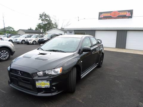2011 Mitsubishi Lancer Evolution for sale at Grand Prize Cars in Cedar Lake IN