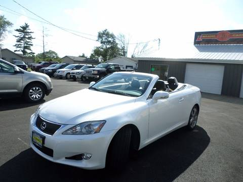 2010 Lexus IS 350C for sale at Grand Prize Cars in Cedar Lake IN